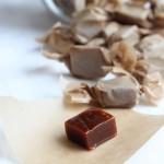 Vegan Saffron Toffee / caramel