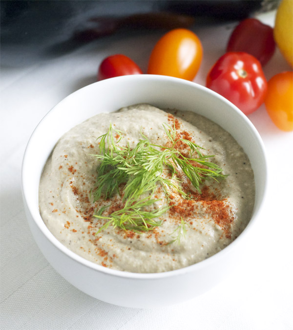 vegan baba ganoush