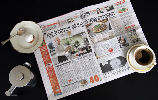 elegantly vegan in aftonbladet-07032014