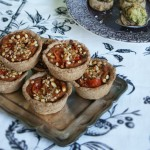 Mini Pies with Roasted Mediterranean Vegetables
