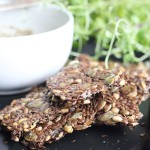 Easy Three Grain Crackers